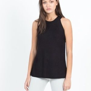 Modern Citizen Miya High-Neck Sleeveless Sweater